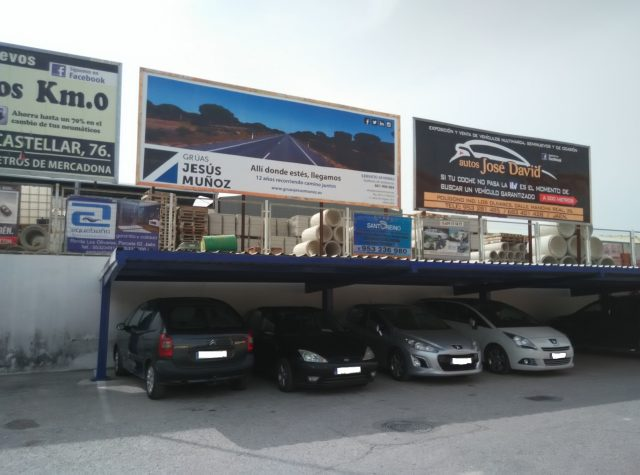 Valla Publicitaria en ITV Jaén